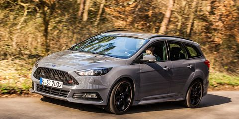 ford focus diesel wagon  drive review car