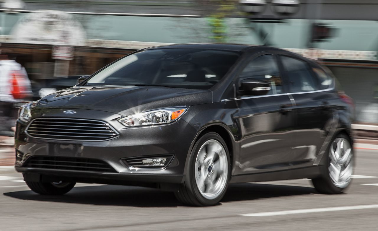 2017 Ford Focus Anium Manual Test 8211 Review Car And Driver