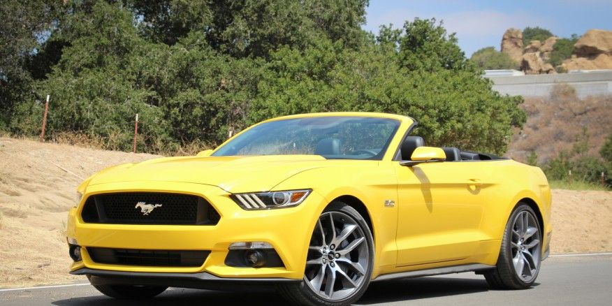 2015 Ford Mustang GT Convertible Manual Test – Review ...