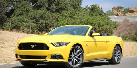 2017 Ford Mustang Gt Convertible Manual Test 8211 Review