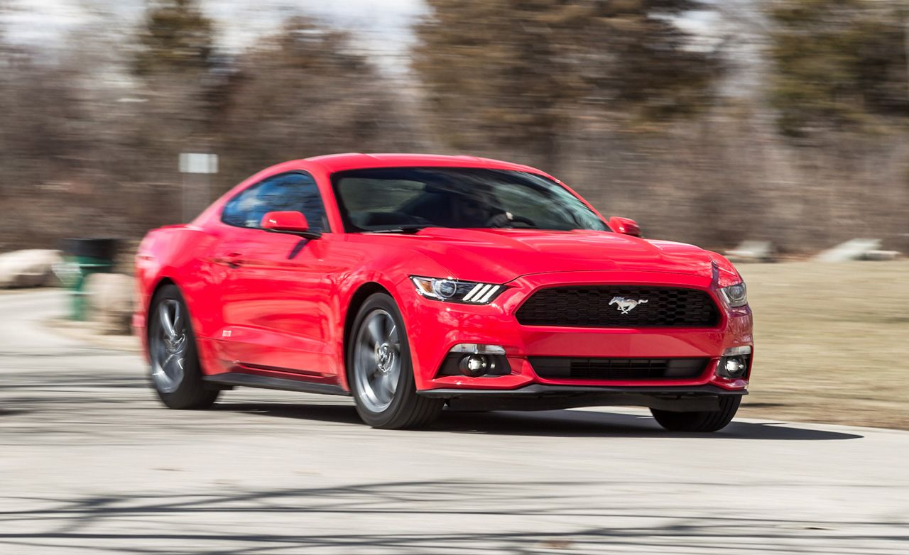 2015 ford mustang v 6 test review car and driver