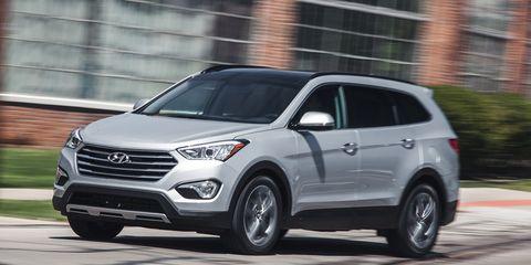 Santa Fe Suv >> 2015 Hyundai Santa Fe Review 8211 Seven Passenger Suv
