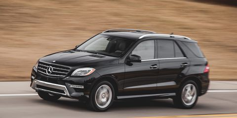 2015 Mercedes-Benz ML250 BlueTec Test –