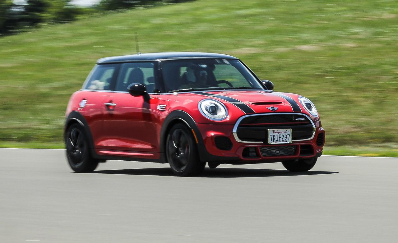 2017 Mini John Cooper Works Hardtop First Drive 8211 Review Car And Driver