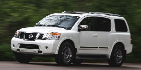 Nissan Armada Towing Capacity >> 2015 Nissan Armada 8211 Review 8211 Car And Driver