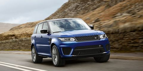 2015 Range Rover Sport SVR First Drive –