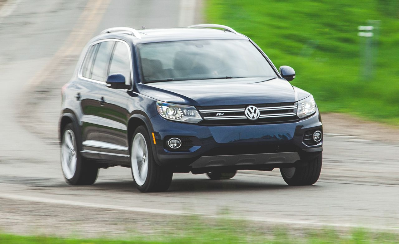 2015 Volkswagen Tiguan Fwd Instrumented Test 8211 Review 8211 Car And Driver