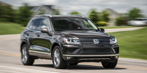 2017 Volkswagen Touareg Embellishing Vw S