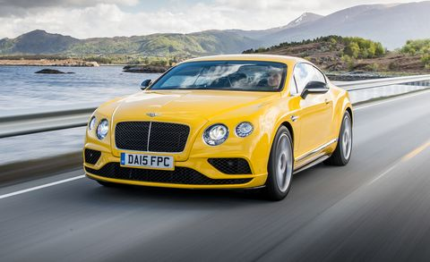 2016 Bentley Continental Gt Sd V8 S Coupe