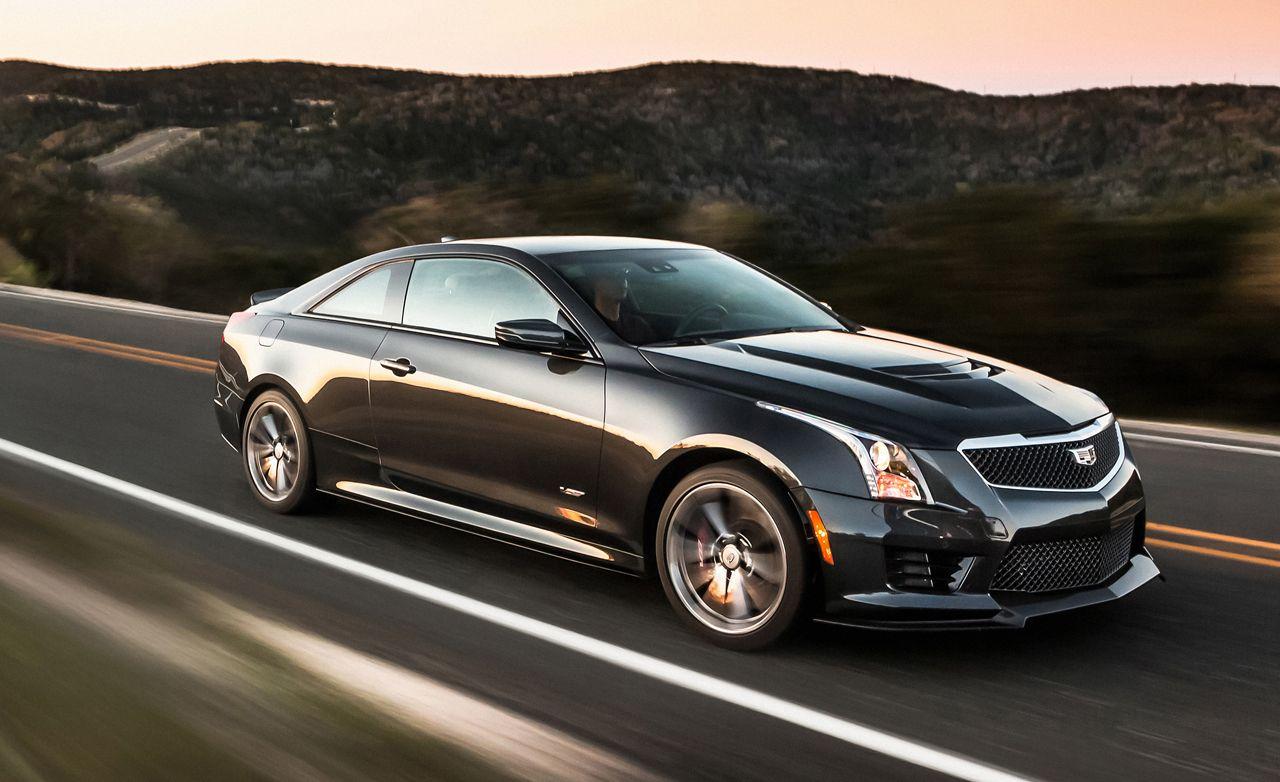 2020 Cadillac ATS-V Coupe Exterior