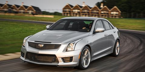 Cadillac Ats Sedan >> 2016 Cadillac Ats V Sedan Test 8211 Review 8211 Car And Driver