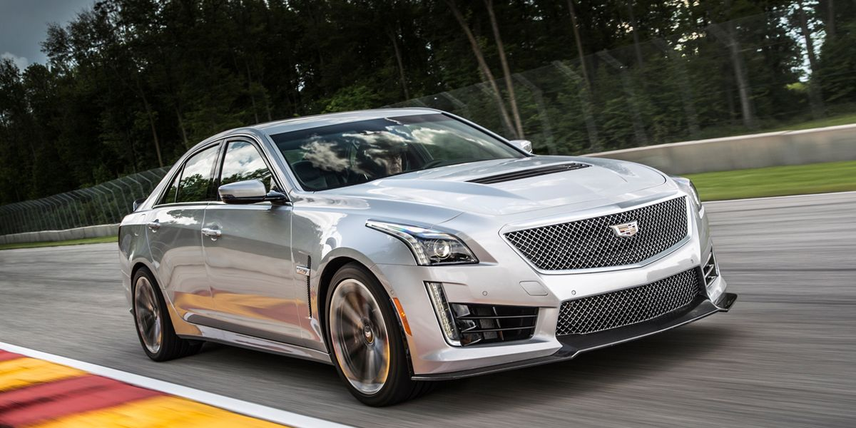 2016 Cadillac CTS-V Test