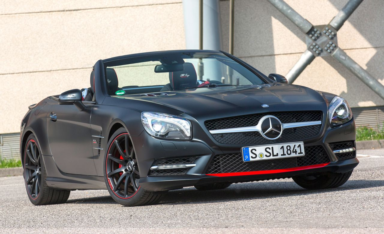 2016 Mercedes Benz Sl550 Mille Miglia 417 First Drive 8211 Review Car And Driver