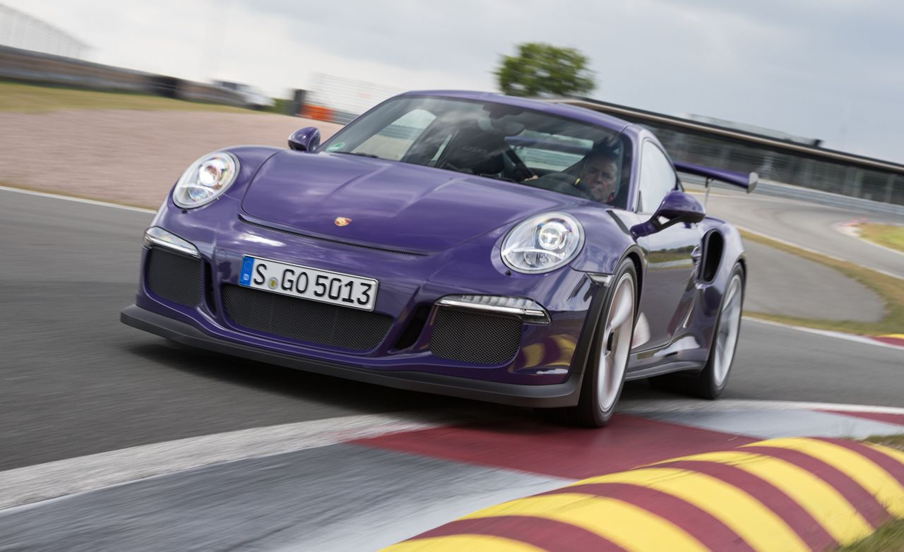 2016 Porsche 911 Gt3 Rs First Drive 8211 Review Car And Driver