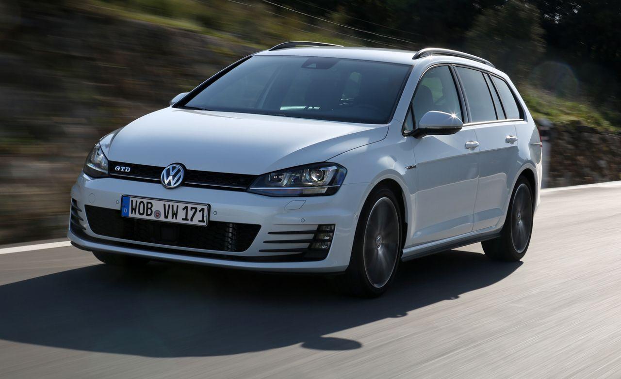 2016 Volkswagen Golf Gtd Sportwagen First Drive 8211 Review Car And Driver
