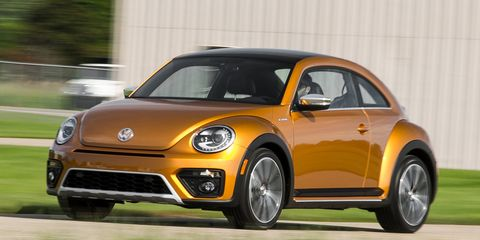 Volkswagen Beetle Dune Concept First Drive 8211 Review 8211