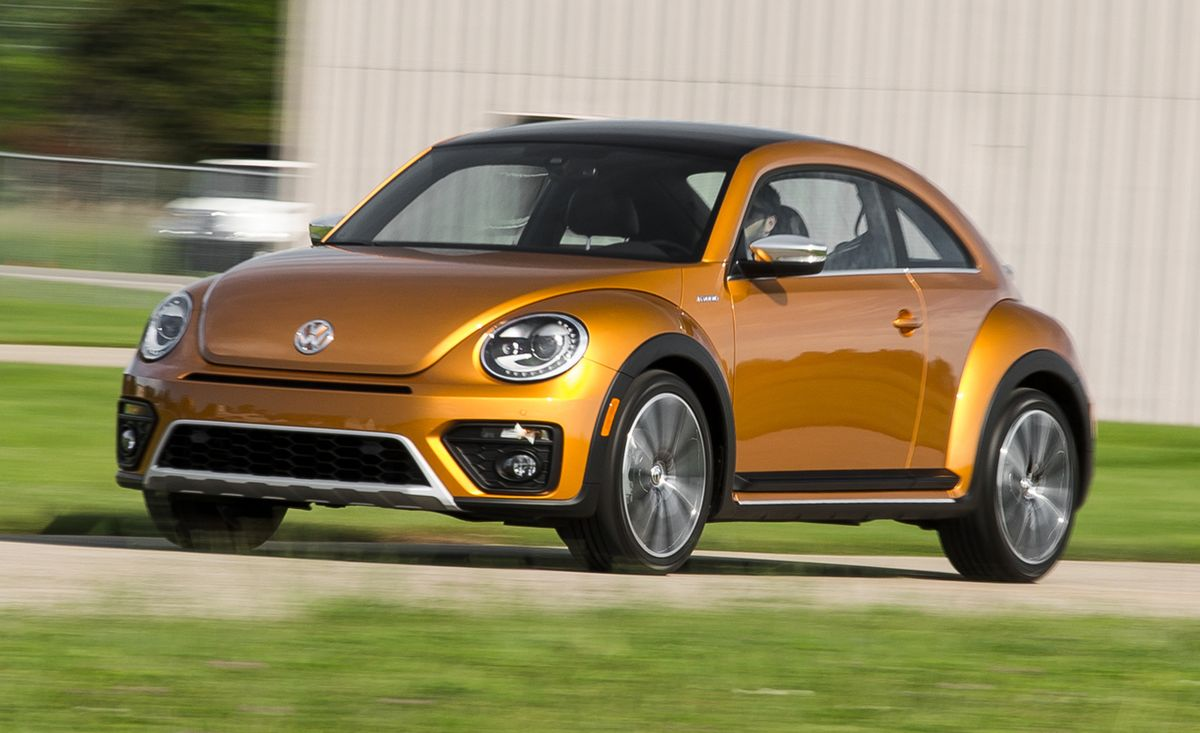 Volkswagen Beetle Dune Concept First Drive 8211 Review 8211 Car And Driver