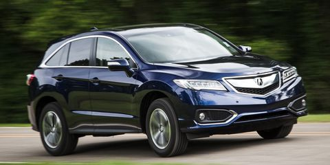 Acura Suv 2016 >> 2016 Acura Rdx Awd Instrumented Test 8211 Review 8211 Car And