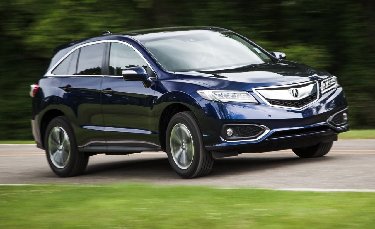 2016 Acura Rdx Awd Instrumented Test 8211 Review 8211 Car And Driver