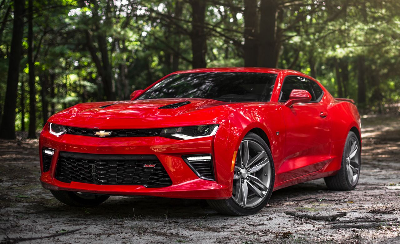 2016 Chevrolet Camaro Ss Automatic Test 8211 Review Car And Driver