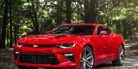 2016 Chevrolet Camaro Ss Automatic Test 8211 Review