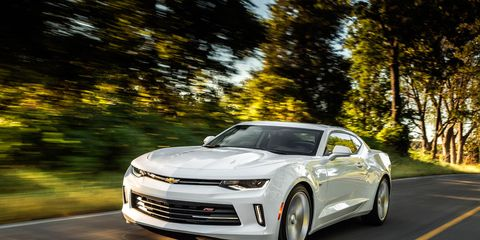 2016 Chevrolet Camaro V-6 Automatic First Drive –