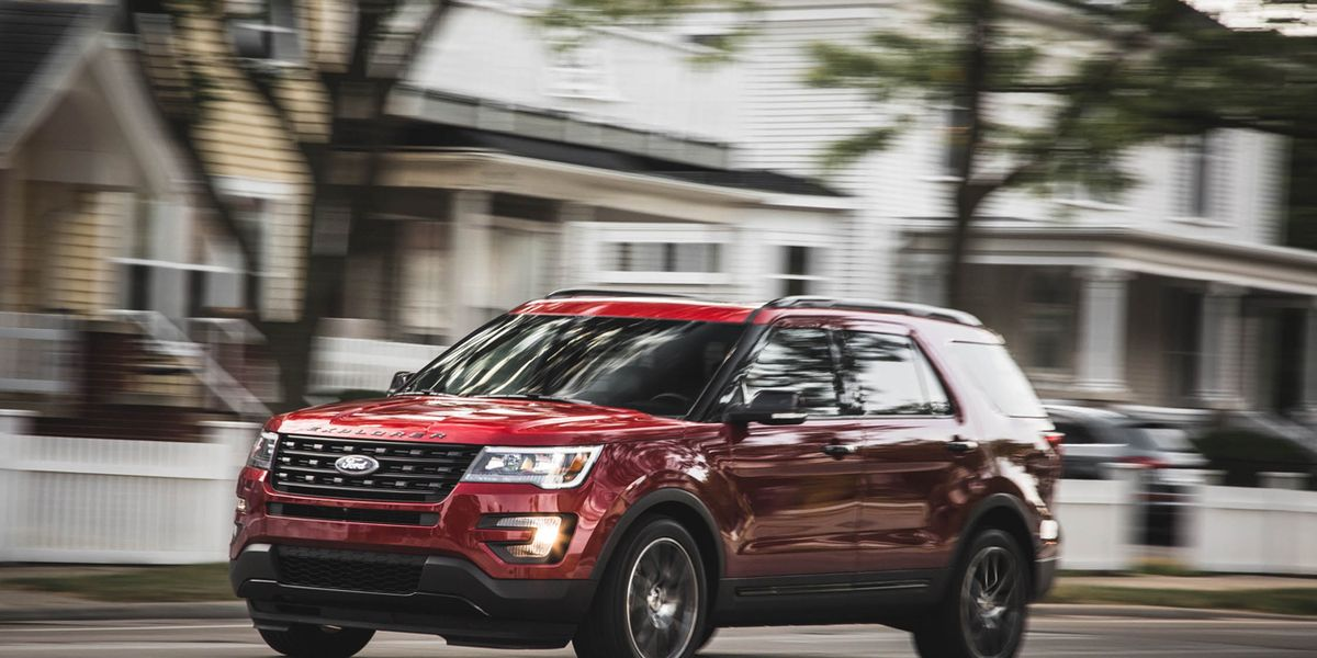 2016 Ford Explorer Sport Test Review Car And
