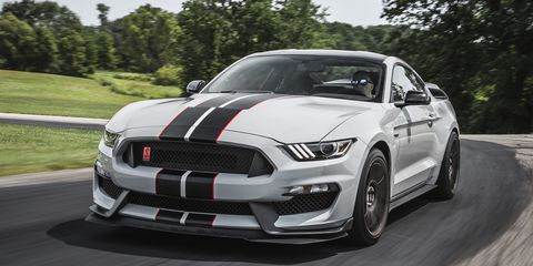 2016 Ford Mustang Shelby Gt350r Riding Shotgun In One Of The Year S Most Aned Cars