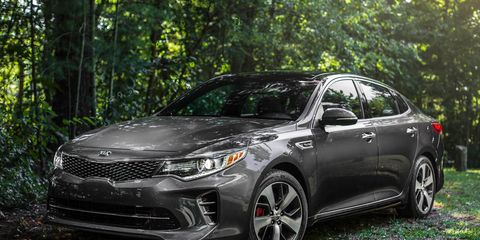 Image Michael Simari The Redesigned 2016 Kia Optima Has