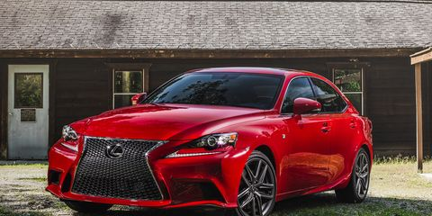 Lexus F Sport >> 2016 Lexus Is200t F Sport Test 8211 Review 8211 Car And Driver