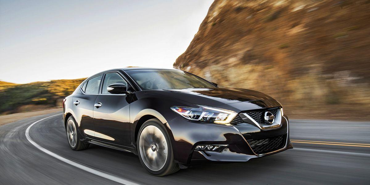 2016 Nissan Maxima SR Instrumented Test –