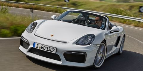 2016 Porsche Boxster Spyder First Drive 8211 Review 8211 Car