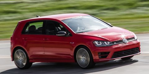 2016 Volkswagen Golf R Manual