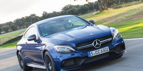 2017 Mercedes-AMG C63 Coupe First Drive –