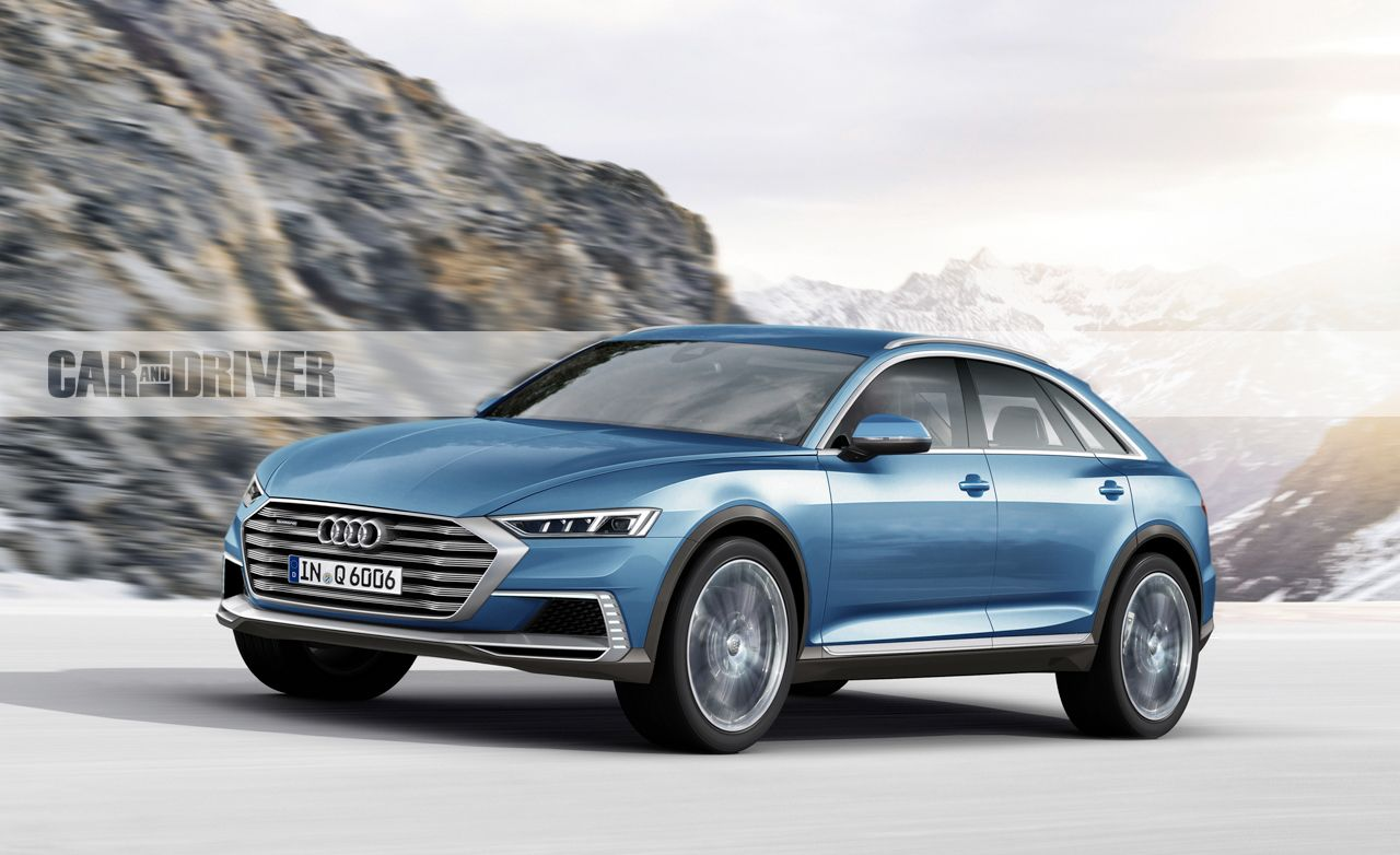 2019 Audi Q6 The Four Rings Take On Tesla