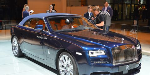 2016 Rolls Royce Dawn Photos And Info 8211 News 8211 Car And