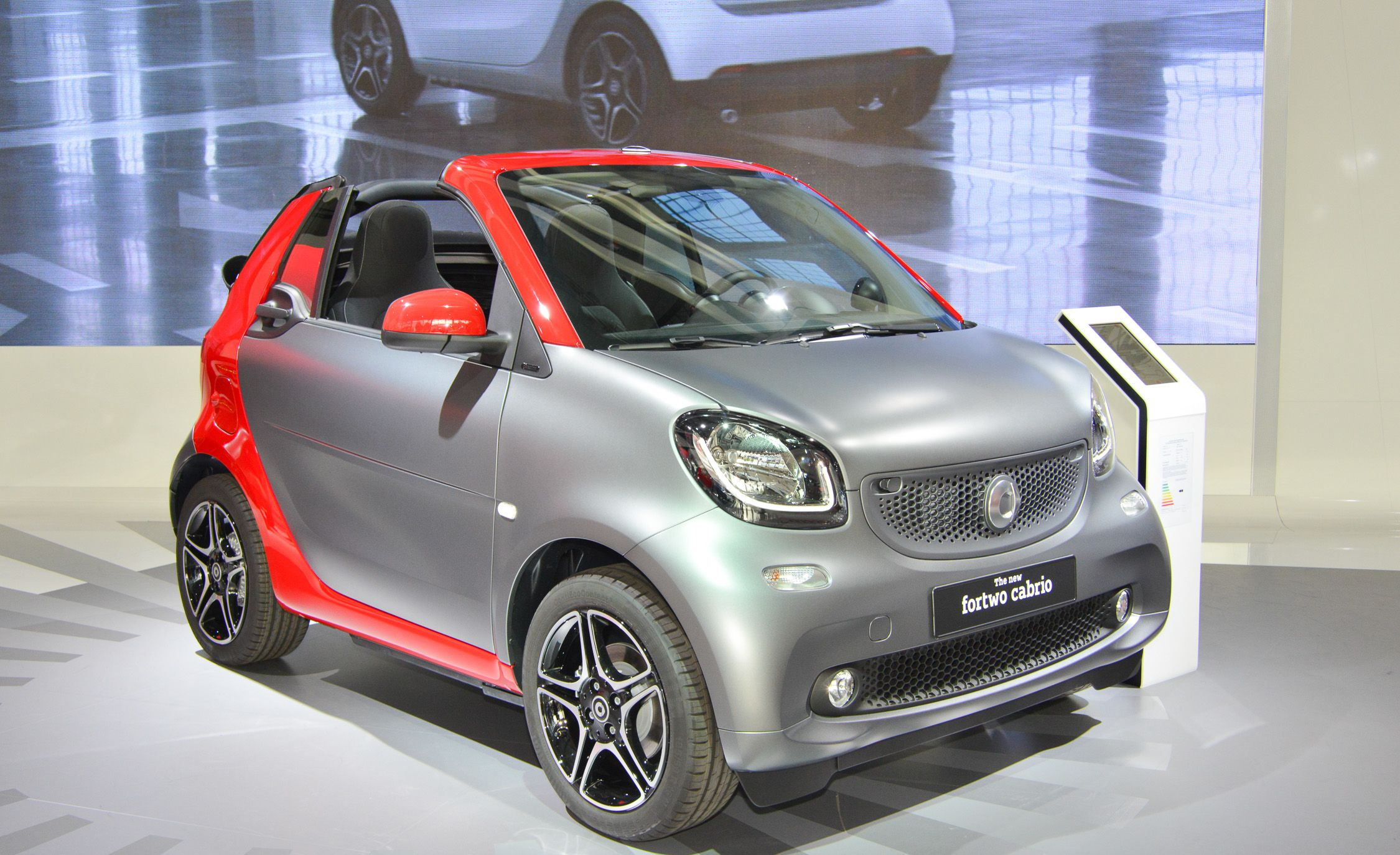 2017 Smart Fortwo Cabriolet Debuts New Gen Car Four Percent More Roof