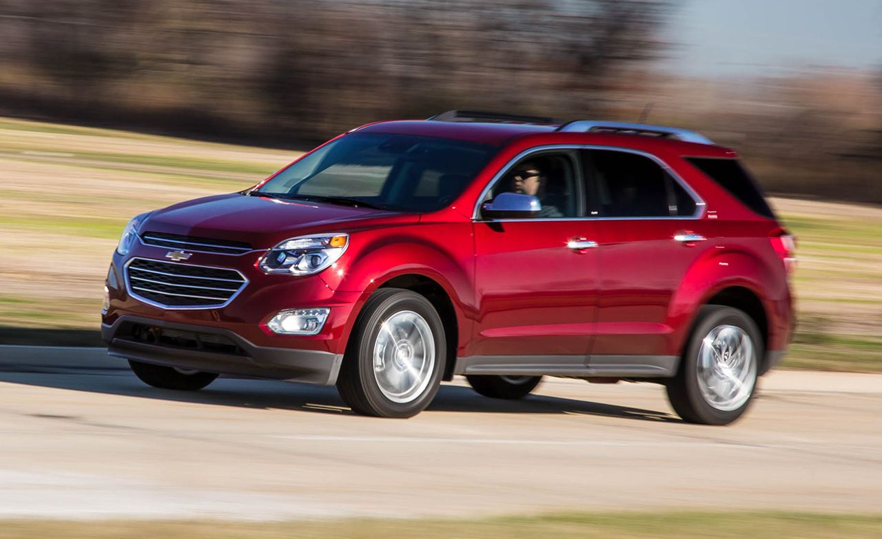 2016 Chevrolet Equinox 2 4l Awd Test 8211 Review Car And Driver