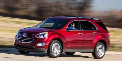 2016 Chevrolet Equinox 2 4L AWD Test –