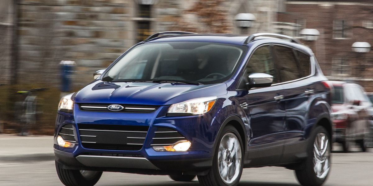 2016 Ford Escape 2 0l Ecoboost Fwd Instrumented Test 8211 Review Car And Driver