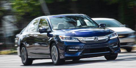 2016 Honda Accord Sedan EX Test –