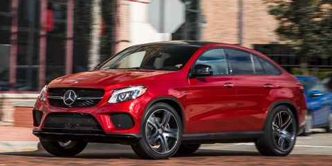 2016 Mercedes Benz Gle450 Amg Coupe