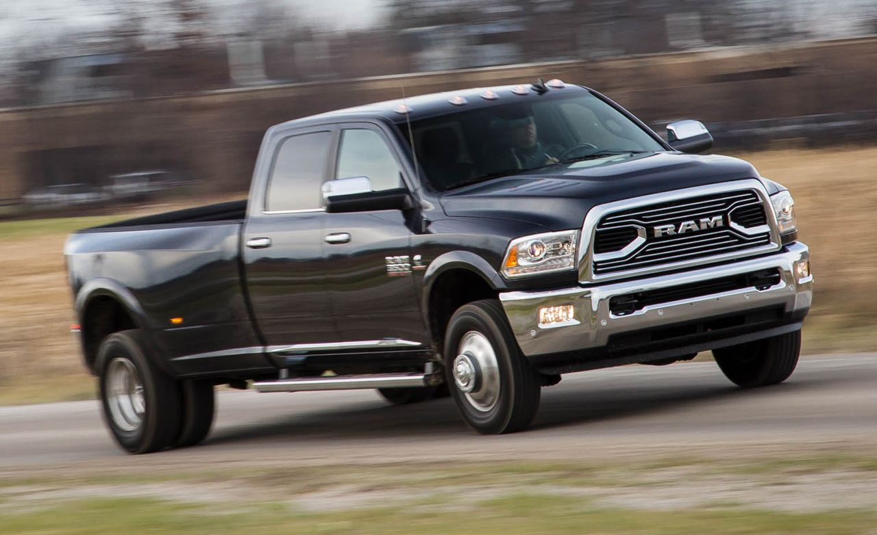 2016 Ram 3500 Sel Crew Cab 4x4 Test 8211 Review Car And Driver