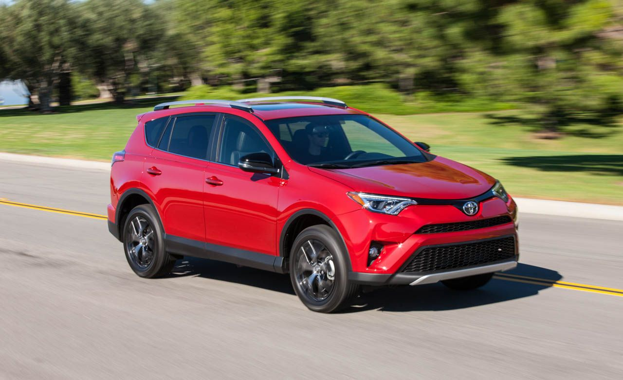 2016 Toyota Rav4 Se First Drive 8211 Review 8211 Car And Driver
