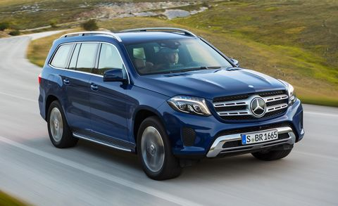 2017 Mercedes Benz Gls Cl