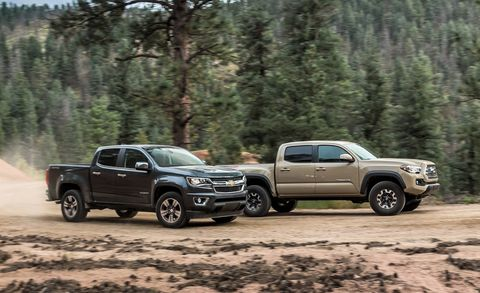 Truck Comparison: We Test the Chevy Colorado and the Toyota Tacoma