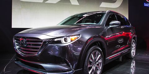 2016 Mazda Cx 9 Shunning For Practicality