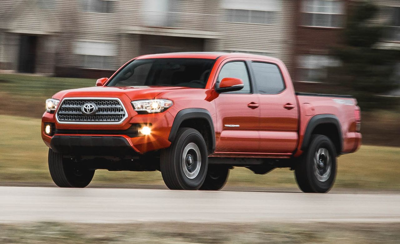 2016 Toyota Tacoma V 6 4x4 Manual Test 8211 Review Car And Driver