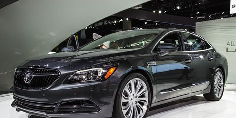 2017 Buick LaCrosse Official Photos and Info –