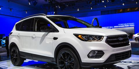 2017 Ford Escape Official Photos And Info News Car And